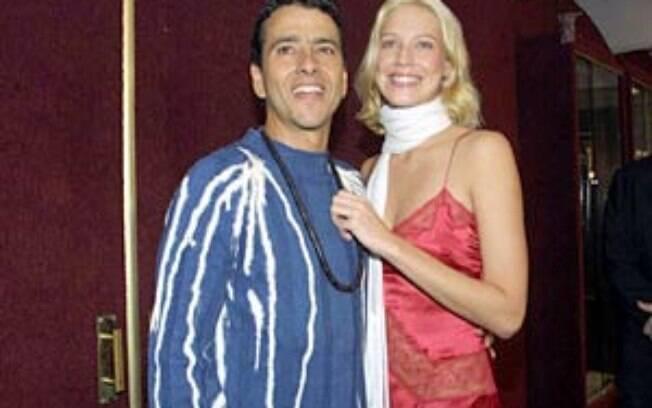 Marcos Palmeira e Luana Piovani se conheceram em 2002, quando atuaram juntos na peça