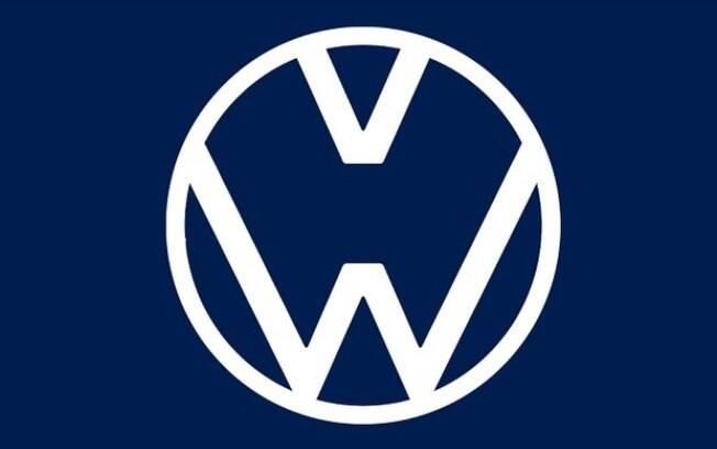 O clássico simbolo da Volkswagen sofreu mais uma alteração temporária pelo afastamento