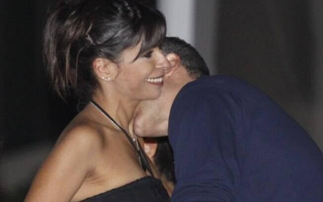 Ana Lima e o namorado