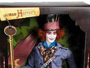 Chapeleiro Maluco de Johnny Depp vira boneco