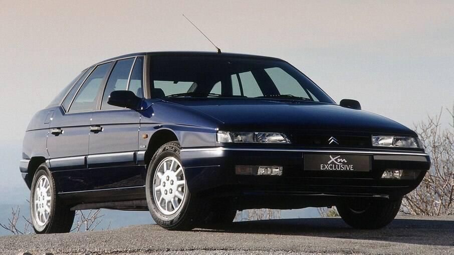 Citroën XM: chegou a ser vendido no Brasil no início dos anos 90 com suspensão hidropneumática