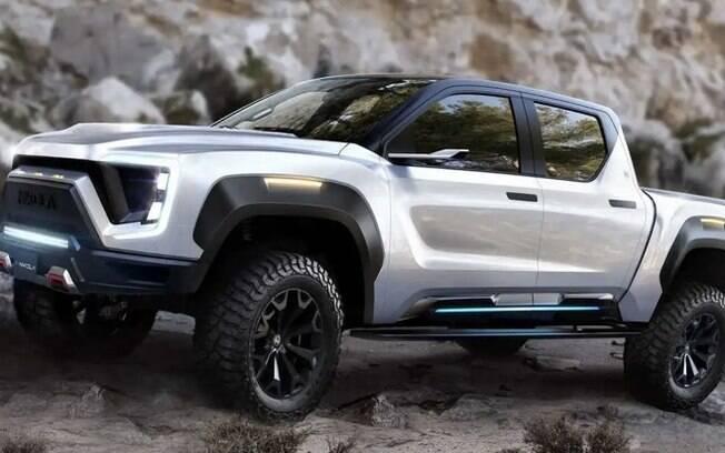 A General Motors e a Nikola discutem parceria para produzir em conjunto a picape Badger. Foto: Divulgação