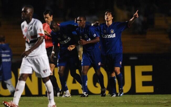 Nas semifinais do Paulistão de 2007, o São Caetano goleou o São Paulo por 4 a 1, em pleno Morumbi, e chegou à final