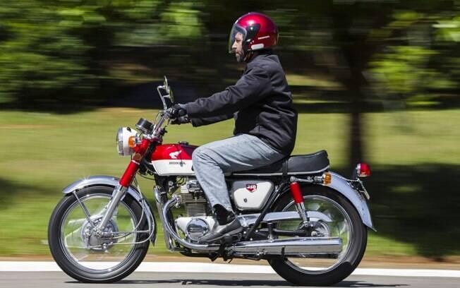 A Honda CB 350 K0 de 1968 era mais confortável que suas rivais com motores 2T