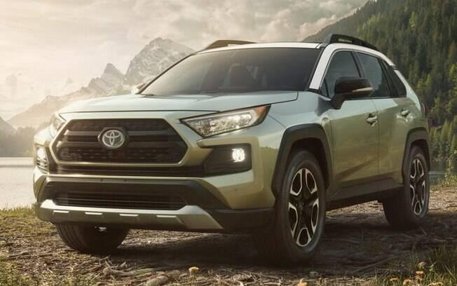 Toyota RAV4 2019 aparecerá com mecânica totalmente renovada. Será vendido nos EUA a partir do fim do ano