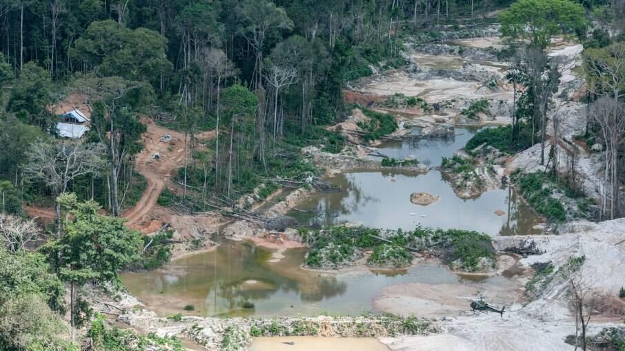 Mineração em terras protegidas