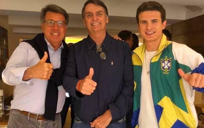 Paulo Marinho apoiou Bolsonaro nas eleições de 2018