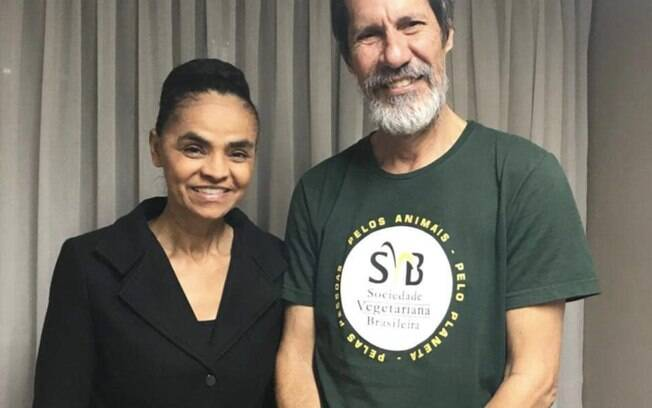Candidatos à Presidência: Rede oficializou o nome de Marina Silva, e Eduardo Jorge (PV) será vice na chapa