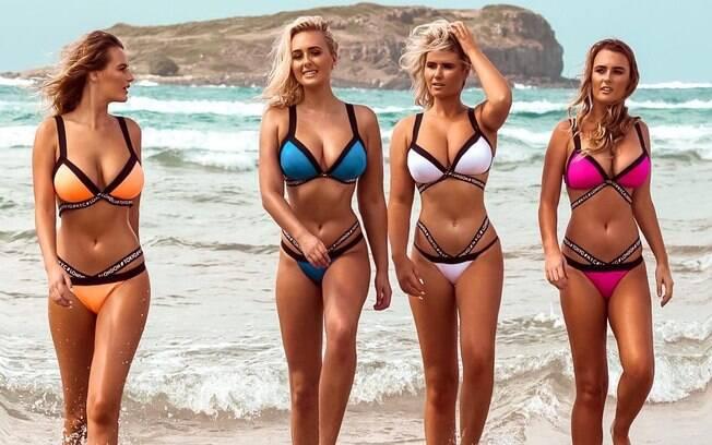 As irmãs Coffey%2C conhecidas na Austrália como as Kardashians do surfe