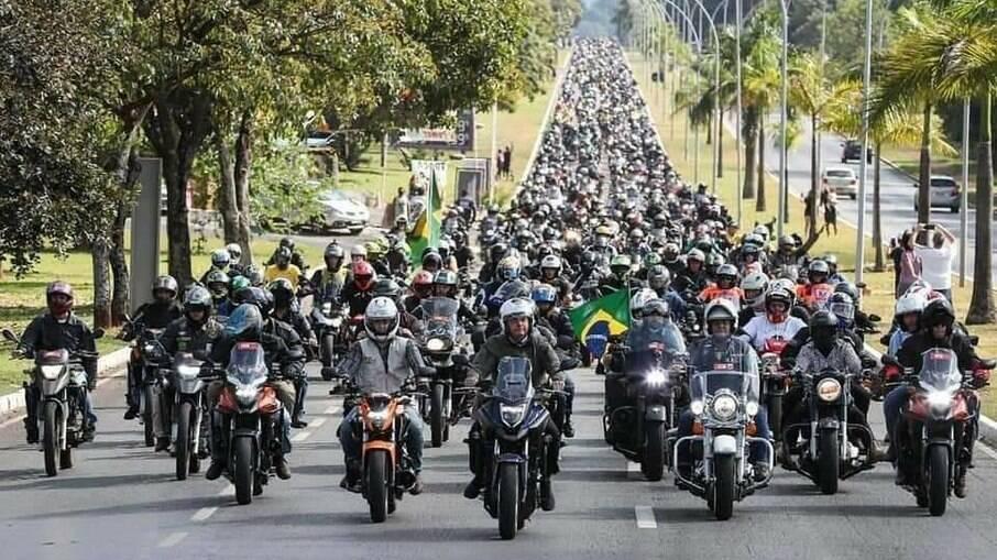Motociata pró-Bolsonaro