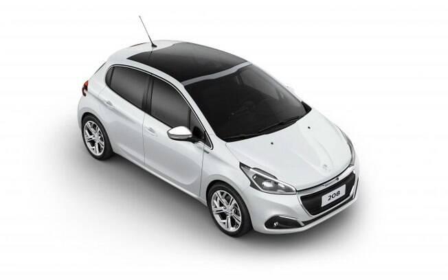 Peugeot 208 Urbantech:  novas rodas de aro 17, com desenho exclusivo, e carcaças dos retrovisores com pintura cromada