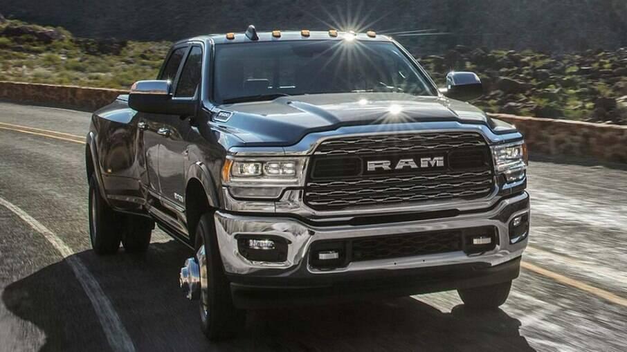 Ram 3500 deverá ser oferecida no Brasil apenas na versão Limited, com o mesmo motor da 2500