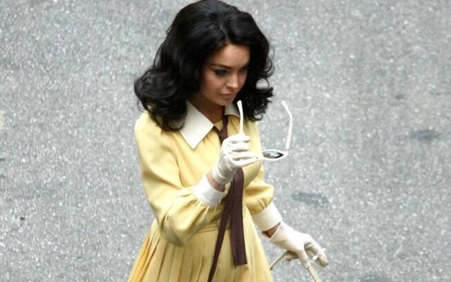 Lindsay Lohan como Elizabeth Taylor: vida que segue apesar do acidente