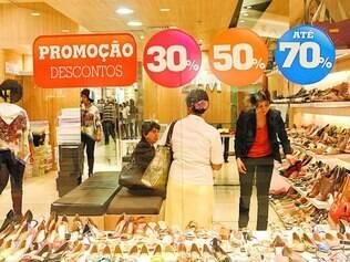 Previsão.  Lojistas do Shopping Cidade, por exemplo, esperam aumento de vendas de cerca de 9%