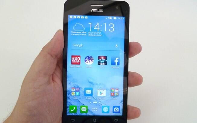 Zenfone 5 é o primeiro smartphone da Asus a chegar ao Brasil