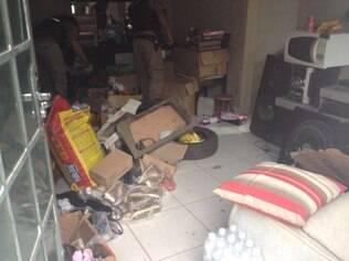 Caminhão de bebidas levado em assalto é recuperado em Nova Serrana
