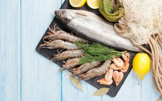 Frutos do mar estão entre os alimentos afrodisíacos pois estimulam a produção de dopamina