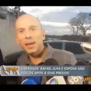 Rafael Ilha em entrevista para o 'A Tarde é sua'