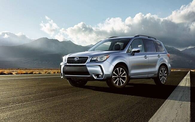 O Subaru Forester é um SUV competente, mas não aparece na lista dos 40 modelos mais vendidos do segmento