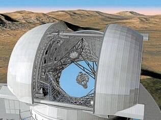 Expedição. Equipe vai ao Observatório Europeu do Sul (acima) e ao Alma, no deserto do Atacama