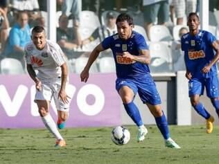 Vitória sobre o Santos garantiu matematicamente o Cruzeiro no torneio continental