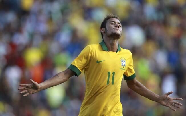 Neymar fez dois gols na vitória por 4 a 0 do  Brasil sobre a Bolívia