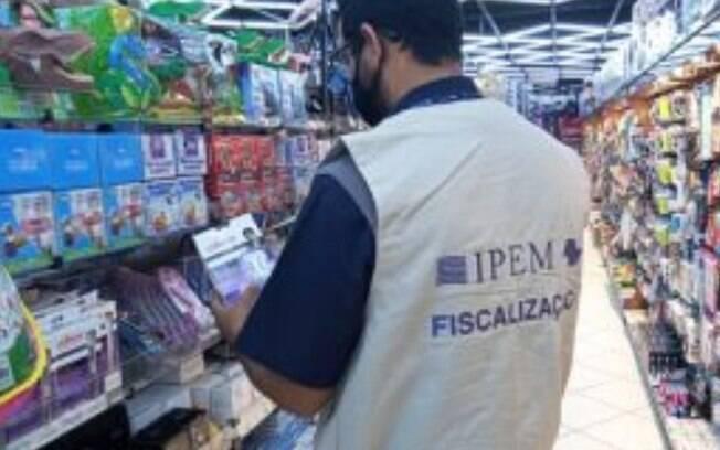 Operação Dia dos Pais encontra irregularidades em 4,9% dos produtos fiscalizados