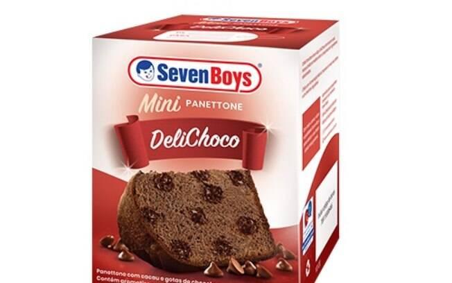 O delichoco tem a massa de cacau e gotas deliciosas de chocolate
