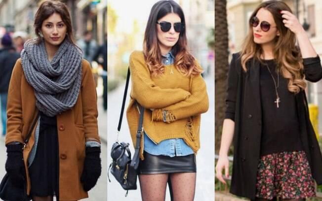 Na hora de adaptar as roupas de verão, casascos e meia-calça podem ser itens coringa para te proteger do frio
