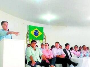 Pimentel teve encontros políticos em Janaúba e Porteirinha