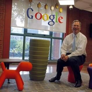 Eric Schmidt, do Google, é um dos entusiastas da compra da Motorola