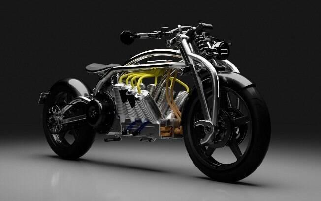 Moto elétrica da Curtiss une a tendência dos automóveis com ares rebeldes e essência recordista