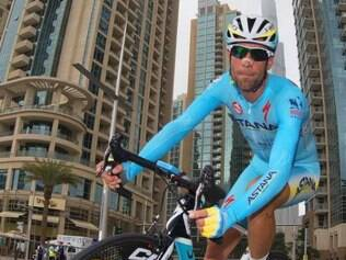 O ciclista italiano Vincenzo Nibali, líder da competição, foi apenas o vigésimo colocado nesta etapa