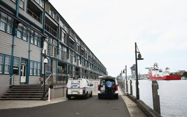 Edifício de Charlotte Dawson em Sydney, onde a apresentadora foi encontrada morta
