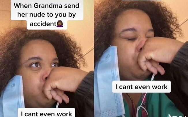 Marquita Green viralizou no TikTok ao contar que recebeu nude da avó