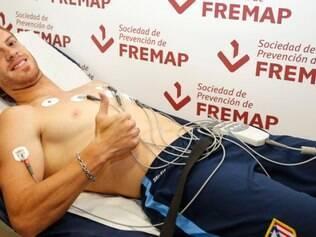 Cristian Ansaldi passou por exames médicos nesta sexta-feira