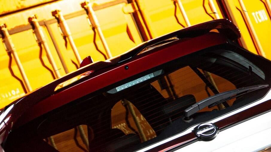 Aerofólio Nissan: peça deixa o SUV com aspecto mais esportivo e faz parte os equipamentos da série limitada  XPlay