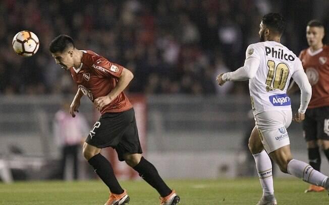 Santos e Independiente disputam vaga nas quartas de final da Libertadores
