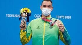 Nadador Fernando Scheffer conquista medalha de bronze para o Brasil nos 200m livre
