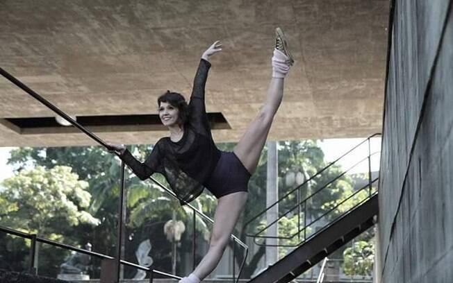 Dança é minha escolha de vida, diz a bailarina