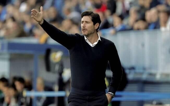 Víctor Sánchez del Amo, técnico do Málaga