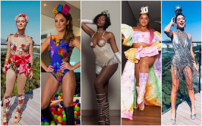 Se você ainda não decidiu a sua fantasia de carnaval, as famosas podem ser uma boa inspiração para compor o look