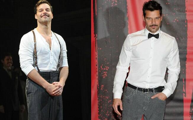 Ricky Martin apareceu caracterizado de Che Guevara