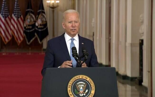 Biden: 'É o fim da era das grandes operações militares'