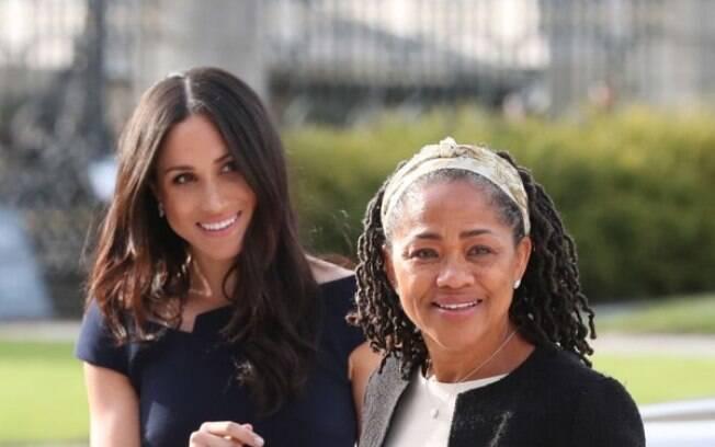 Meghan Markle e sua mãe