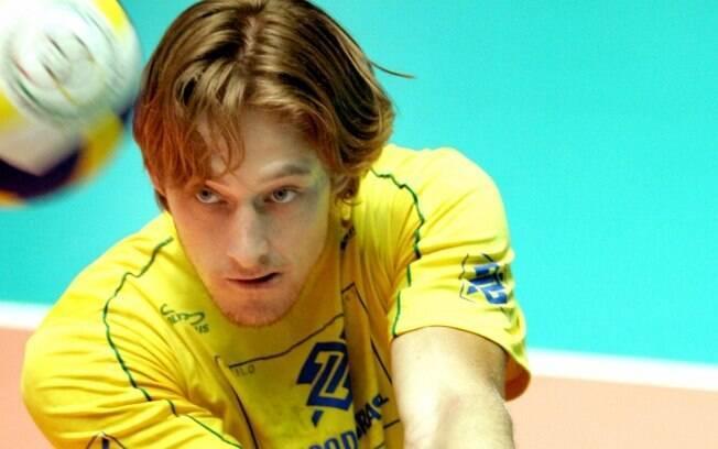 Murilo começou na seleção de novos em meados  dos anos 2000 e, agora, é um dos principais nomes  da seleção masculina