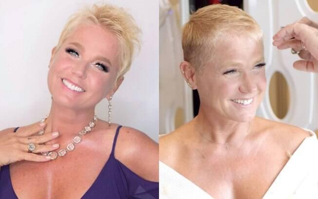 Antes de se inspirar em Xuxa e raspar o cabelo, especialista recomenda consultar um profissional para dicas