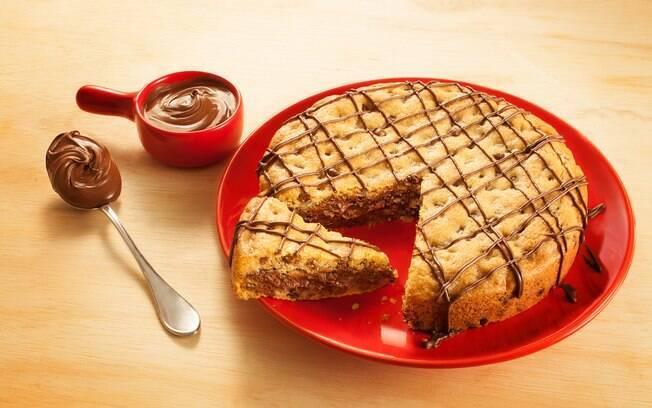 Tortas já são boas por natureza, e ficam ainda melhores com cookies. Clique aqui e veja a receita completa