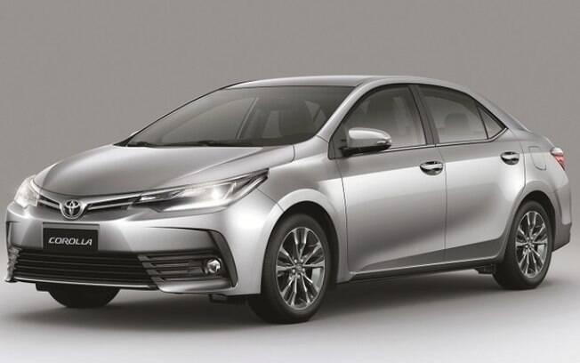 O Corolla é um dos responsáveis por manter a Toyota entre os três fabricantes de maior sucesso no mundo