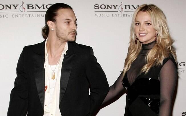 Britney com seu segundo marido, Kevin Federline